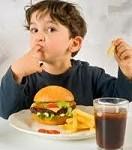 fast food obez çocuk
